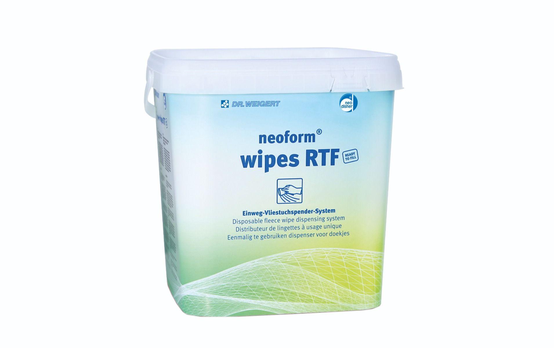 slide image neoform® wipes RTF