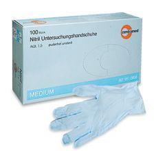 Nitril Handschuhe Centramed puderfrei blau